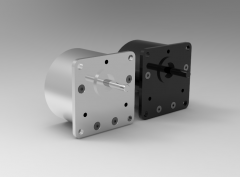 Autodesk Inventor 3D CAD Model of precision gearbox, Max. radial force 300,  Max. axial force 40,RPM 4500