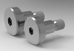 Autodesk Inventor 3D CAD Model of Cylinder head shoulder bolt M6
