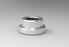 Solid-works 3D CAD Model of Bush for Carr Lock Back-Mount, ID-16mmB-0.475(Inch)