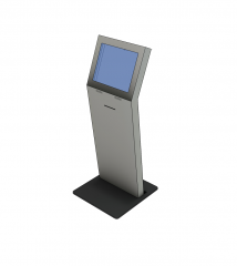 Self check in touch screen SKP