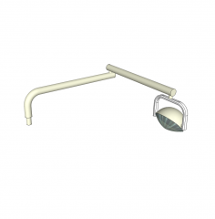 bloque de SketchUp lámpara dental