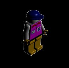 レゴマン3DS Maxモデル
