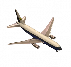 Boeing 767 3DS Max model