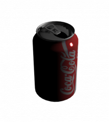 Lata de coca cola