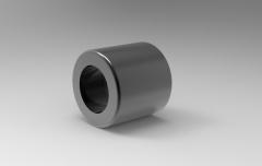 Solid-works 3D CAD Model of Oil-Free Guide Bush, D-50Tolerance=+0.052 / +0.037h=15
