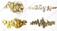 壁の装飾ゴールデンパターン3dsmax