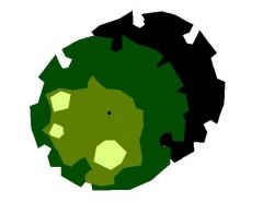Albero con ombra 02 (Plan)