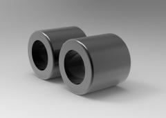 Solid-works 3D CAD Model of Oil-Free Guide Bush, D-60Tolerance=+0.061 / +0.043h=20