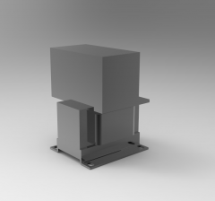 Solid-works 3D CAD Model of Transformer with Rectifier, Power=70WOV=24 V Current=3Efficiency=87 %