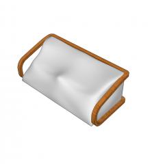 Bean bag sofa sketchup model