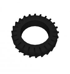 Tractor tyre sketchup block