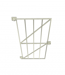 Steel security gate sketchup model