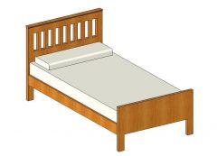 Bed Revit Family 1