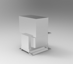 Solid-works 3D CAD Model of Transformer with Rectifier, Power=130WOV=24 V        Current=5Efficiency=89 %