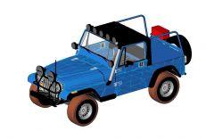 Jeep Wrangler 039Ute Revit Family