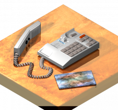 Telefono de oficina