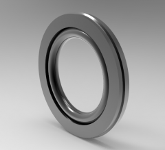Solid-works 3D CAD Model of Single acting piston sealing washer D (mm)20d (mm)12.7L (mm)3.2