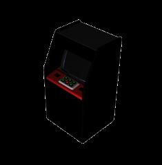 Arcade machine 3DS Max model