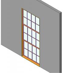 Тройной Хунг окно