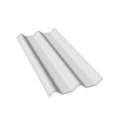 Corrugated Dachziegel Sketchup Block