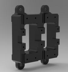 Peça do motor CAD Modelo 69