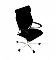 Executive office chair 3DS Max model