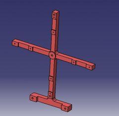706 Machining fixture aluminium bracket  CAD model dwg drawing