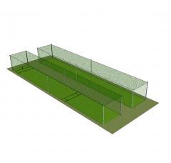 Cricket pesca el modelo de SketchUp