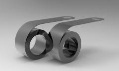 Autodesk Inventor ipt file 3D CAD Model of Constant Force Spring, t=0.006(W)=0.5,    Initial(lx) (inch)=21