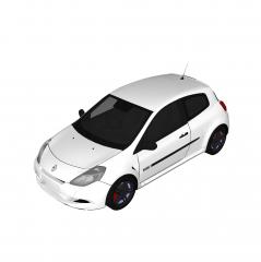 Modello di abbozzo Renault Clio RS 2010