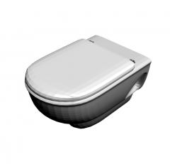 Back to wall toilet 3d max model
