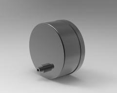 Autodesk Inventor ipt file 3D CAD Model of Drive Digital / Analog Position Indicators, OD d1=60Indication after 1 revolution=0001.0