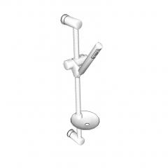滑轨淋浴SketchUp模型
