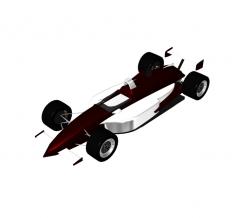 Indycar 3DS Max model