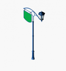 Traditional street light 3DS Max model