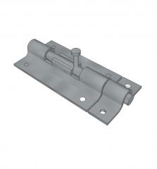 Barrel bolt sketchup model