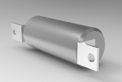 Solid-works 3D CAD Model of Air-Oil-Tank O1