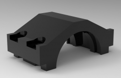 Autodesk Inventor 3D CAD Model of Connecting Rod cap