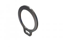 Basic external retain ring obj model