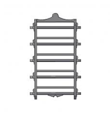 Hanging spice rack 3D DWG block