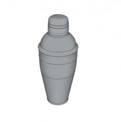 Cocktail shaker sketchup model