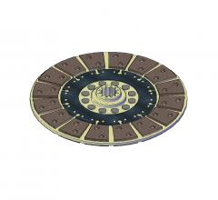 Clutch plate 3D DWG model