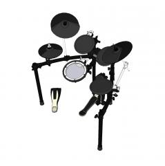 Modello elettronico di sketch kit di batteria