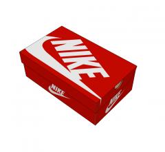 Модельная обувь коробка SketchUp