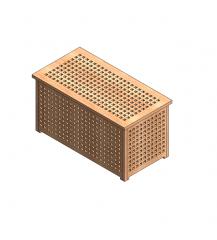 Storage chest Revit model