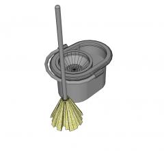 Mop and bucket skp