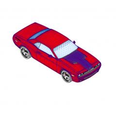 Dodge challenger Revit model