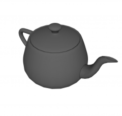 Tetera modelo Sketchup