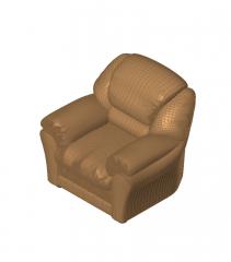 Reclining sofa Revit model