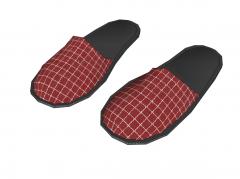 Slippers sketchup model